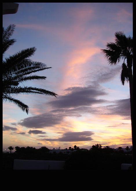 Sunset, Lanzarote