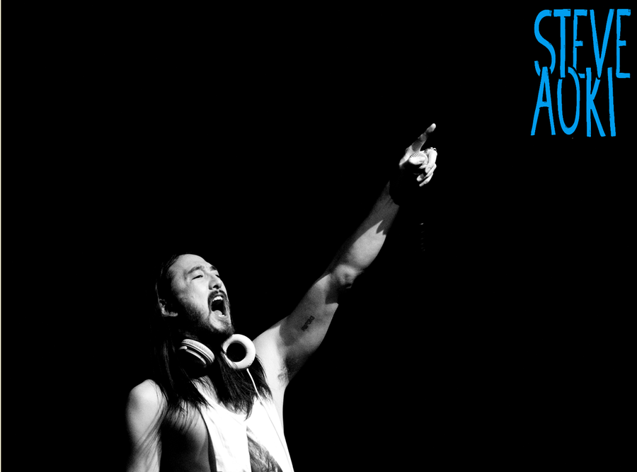 Steve Aoki 2 by total--immortal on DeviantArt