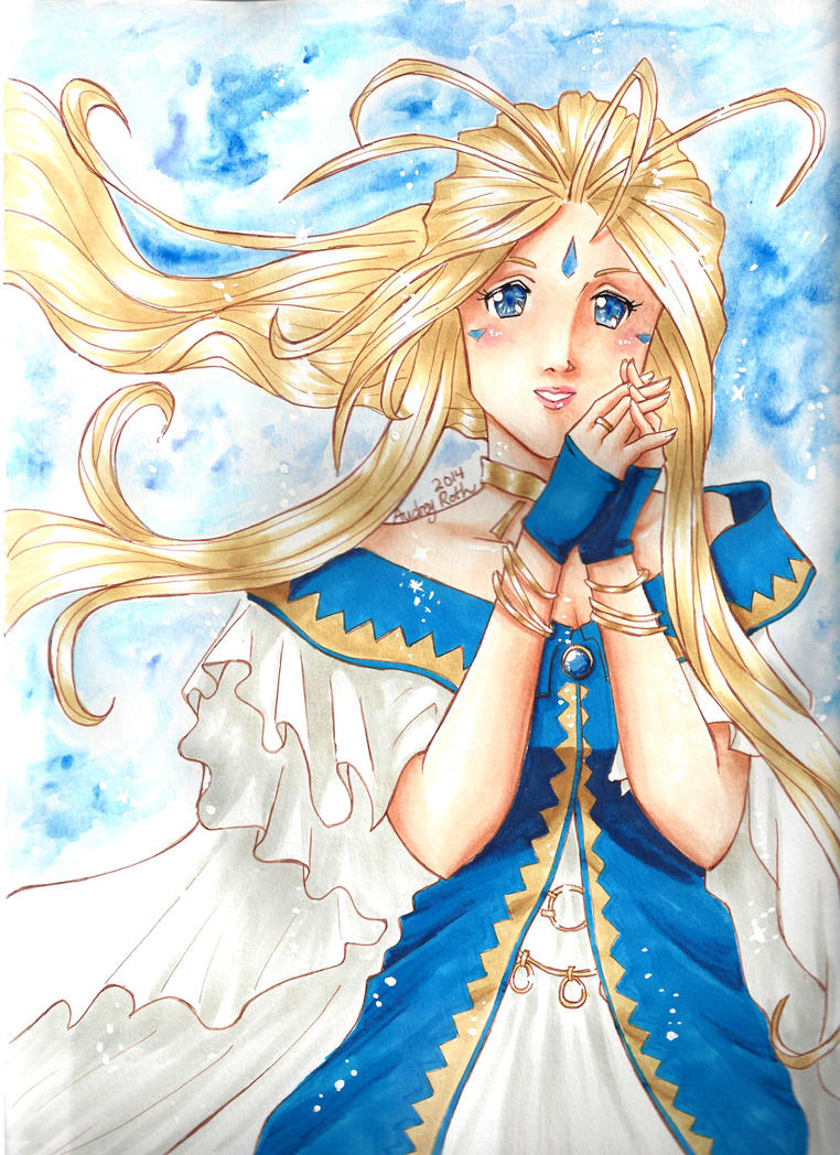 Belldandy by blackxCanary