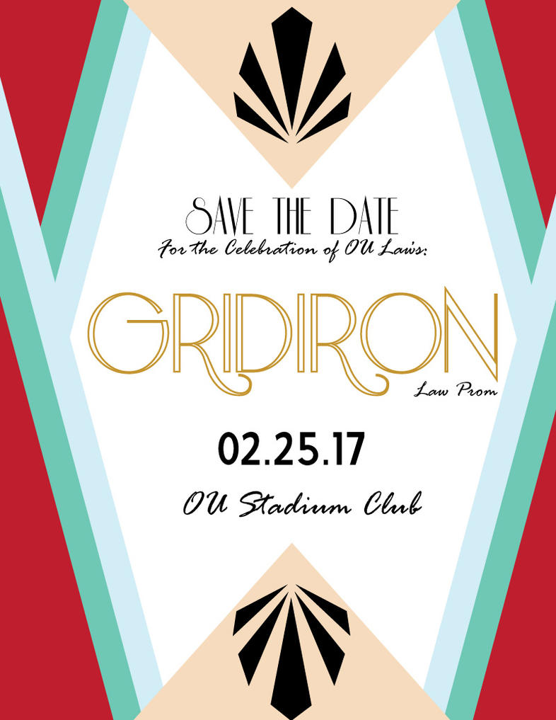 Save the Date - Law Prom by blackxCanary