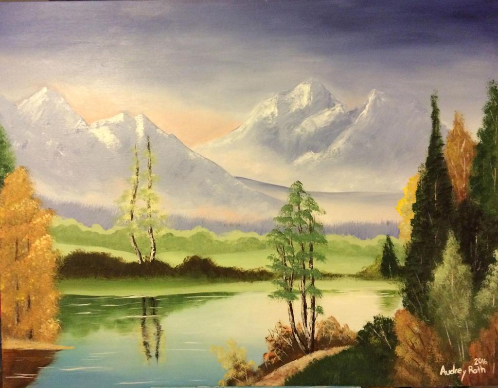 Mountainscape 1 by blackxCanary