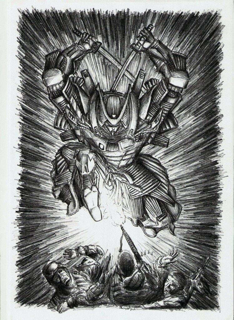 Modern Samurai is Back... by Ragewalker on DeviantArt