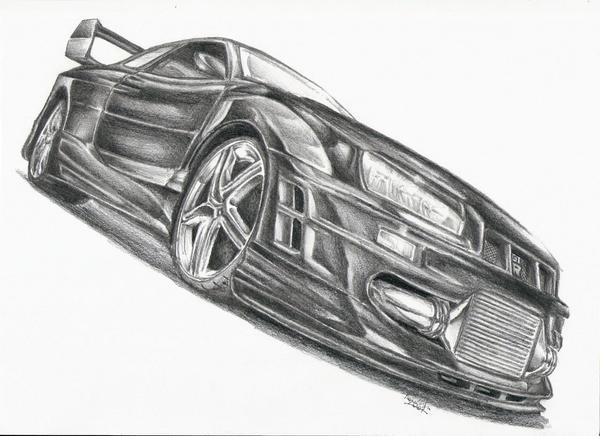 Nissan Skyline Sketch Nissan Skyline gt r by