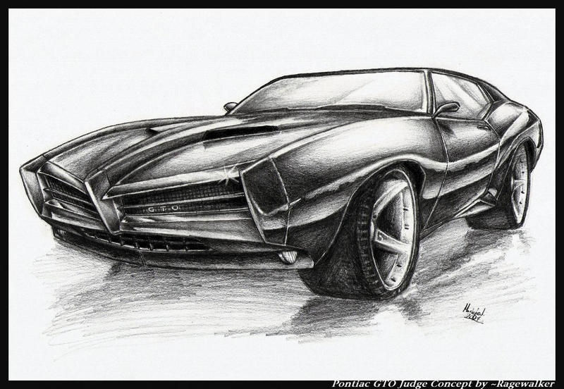 Pontiac GTO Judge Concept by ~Ragewalker on deviantART