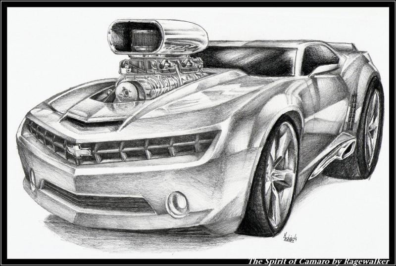 The Spirit of Camaro by Ragewalker