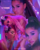 Ariana Grande - 7 rings Poster