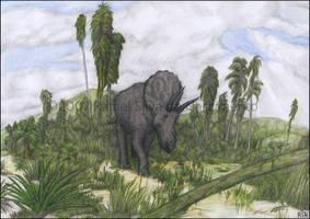 Cretaceous Bull by RSNascimento