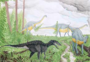Dinosaurs from Burgos II by RSNascimento
