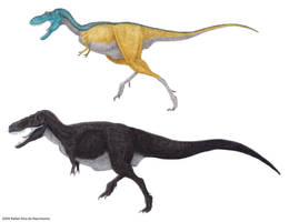 Tyrannosauridae I by RSNascimento