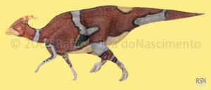 Parasaurolophus tubicen by RSNascimento