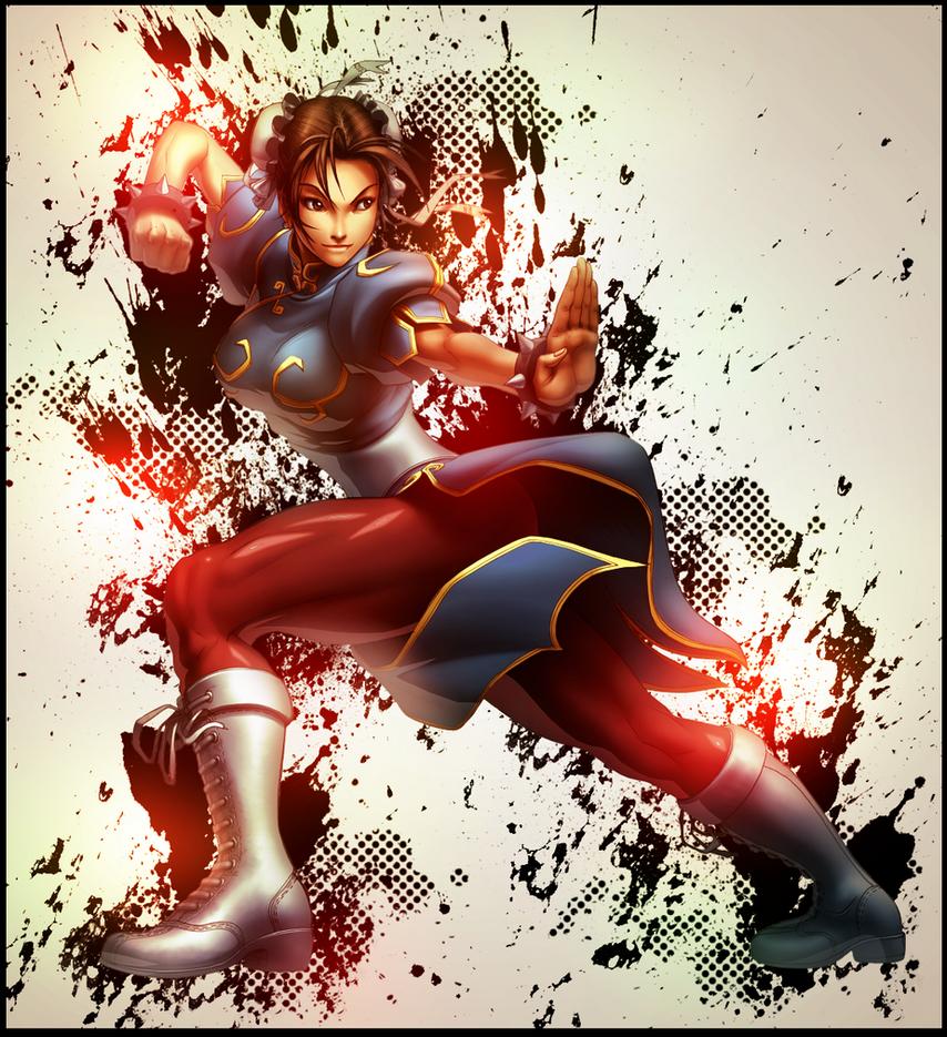 Chun li by OriginalBoss