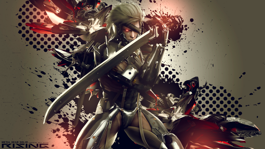 Metal gear rising wallpaper by originalboss on deviantart metal gear rising wallpaper by originalboss voltagebd Image collections