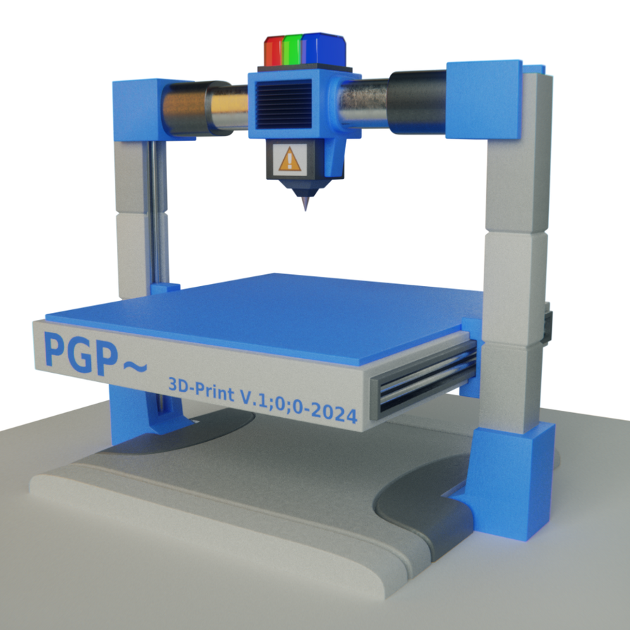 PGP protoprinter by ConstaChymic