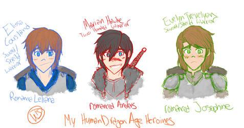 Dragon Age Babes