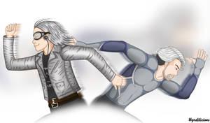 Quicksilver vs Quicksilver by grdobina