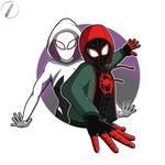 Miles and Gwen by grdobina