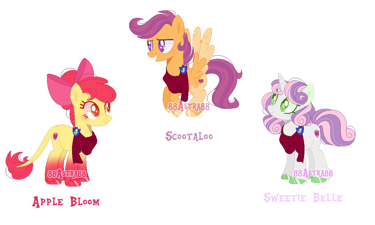 Mlp Cutie Mark Crusaders By 88astra88 On Deviantart Well you're in luck, because here they come. mlp cutie mark crusaders by 88astra88