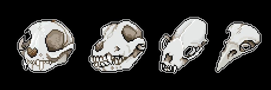 Skull bundle 1 by Ao-No-Lupus