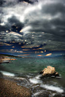 Windy shore by Andrejz