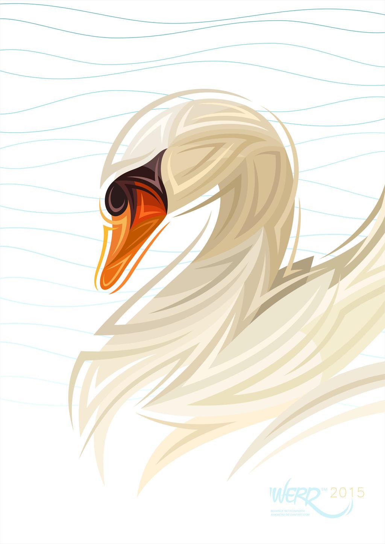 WERD swan by awkwerd