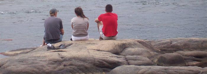 Three on the Rocks