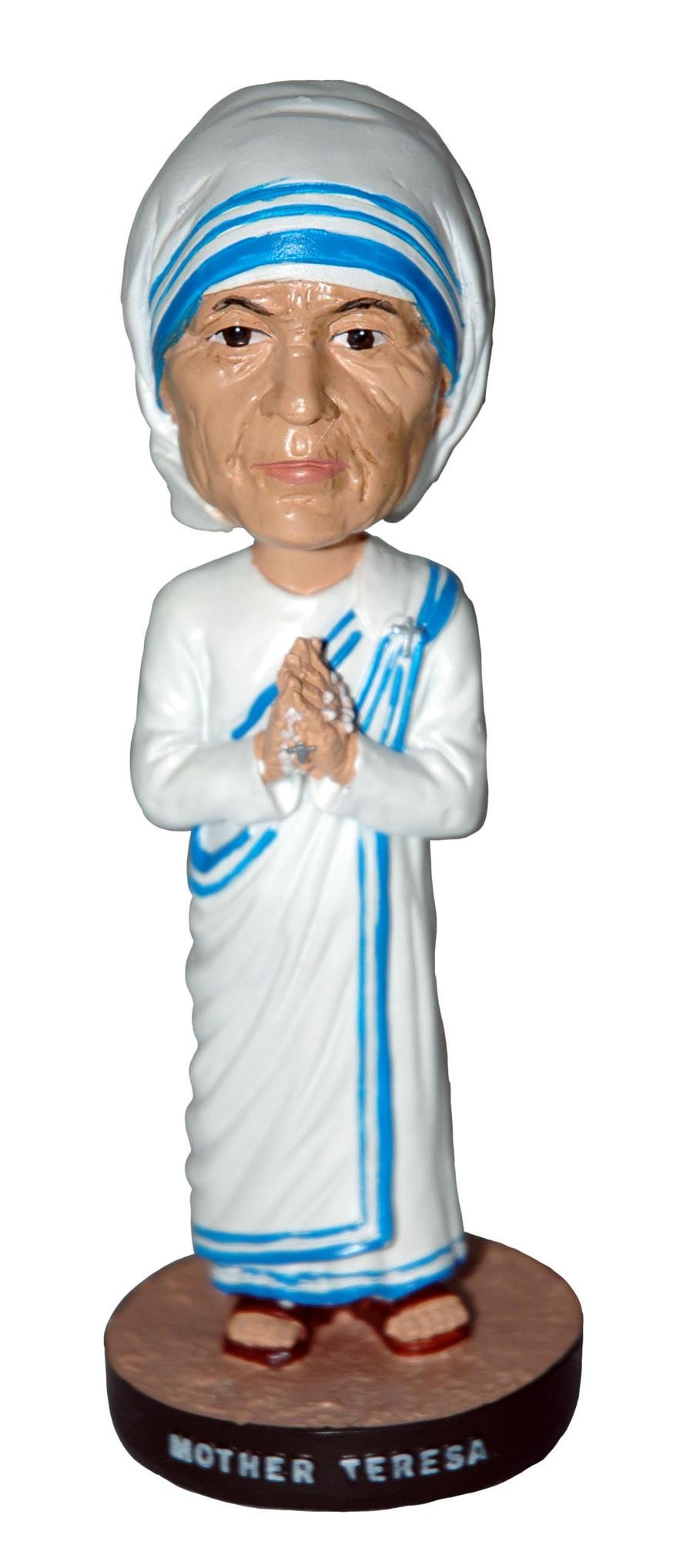 Mother Teresa Figurine By Thebobblehead On Deviantart