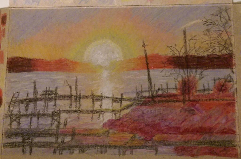 Pax River sunset by ThuhJesheekuh