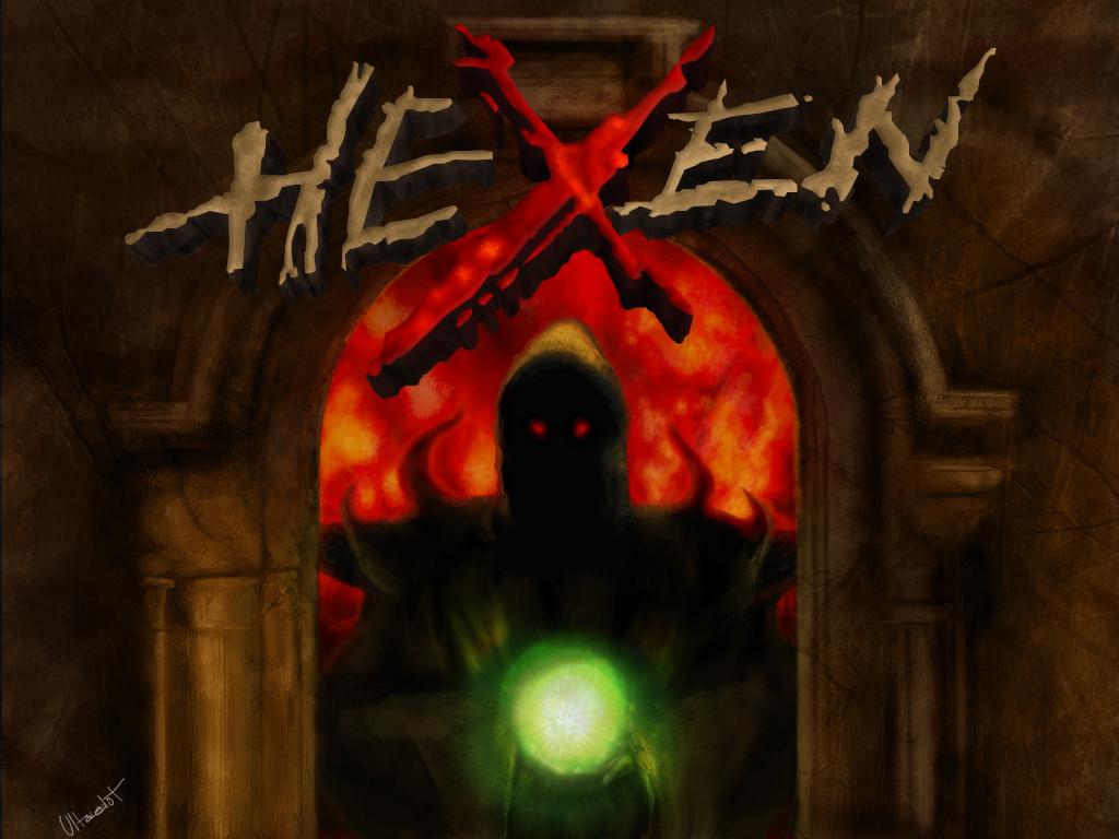 Hexen Title Screen by ULTRAZEALOt