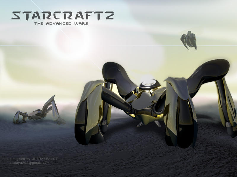 I love this starcraft style