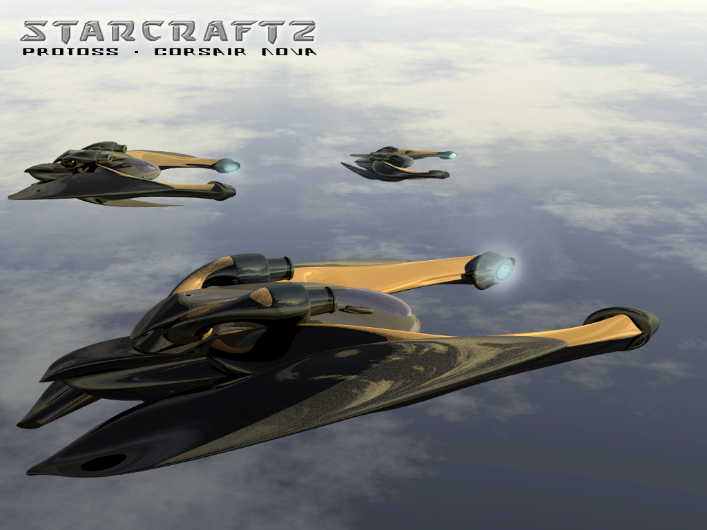 SC2 - corsair nova by ULTRAZEALOt