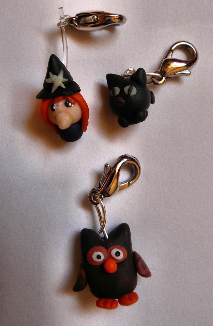 Art I Cake Halloween Charms : Halloween charms by ugnip on DeviantArt