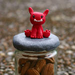 FIMO Jar lid guardian by ugnip