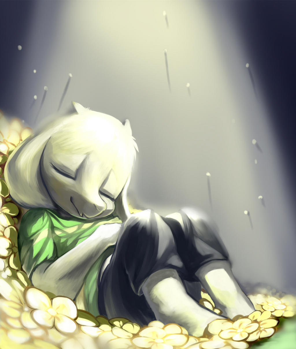 Asriel by Magiace