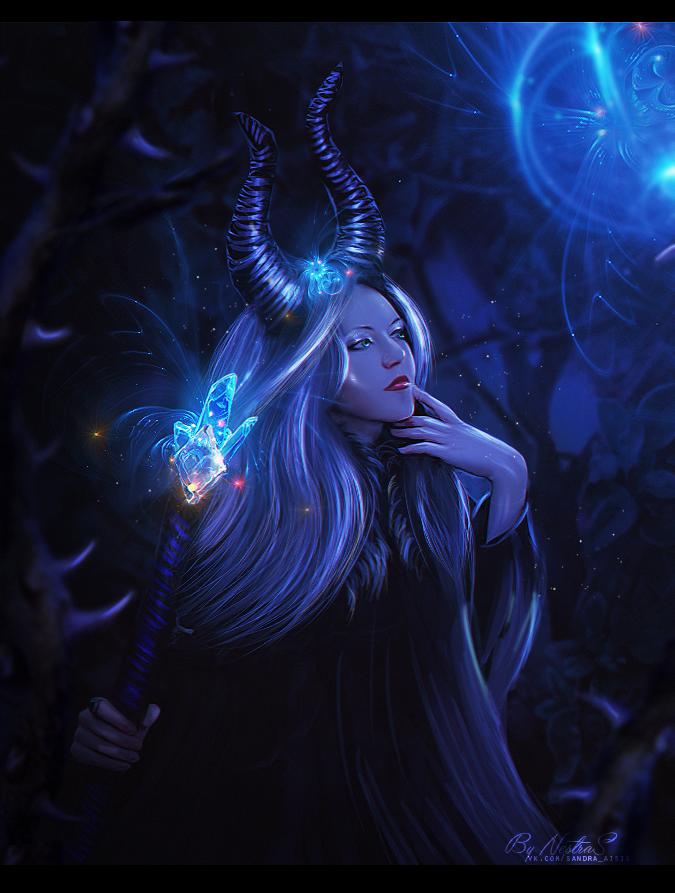 Maleficent by NestraS