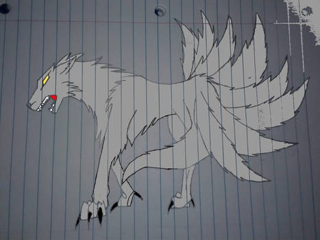 9 tail wolf
