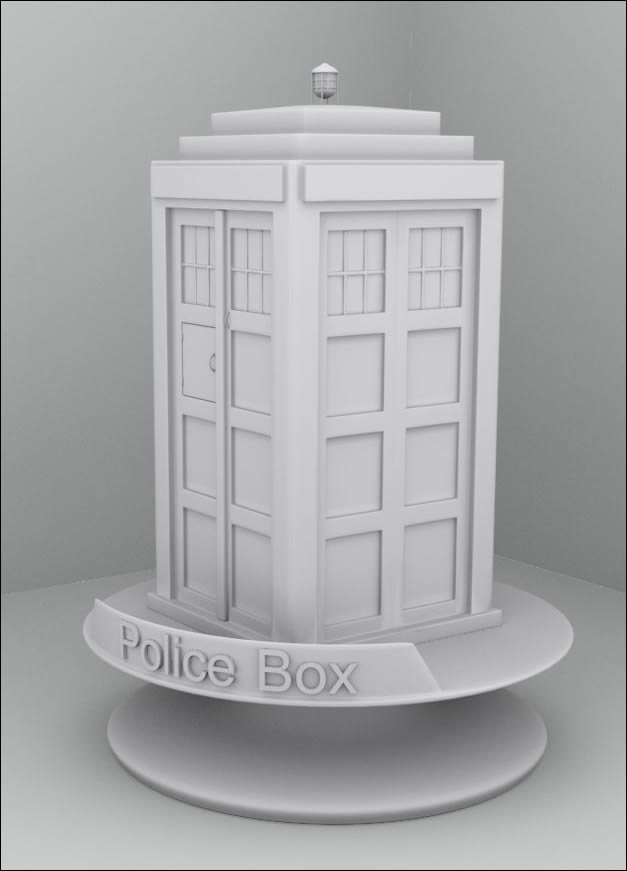 Police Box by foxgguy2001