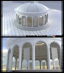 WIP -Greek Temple Garden 1