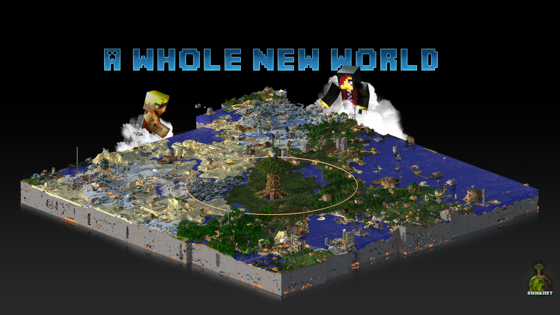 Great Wallpaper Minecraft Fox - awnw_net_map_wallpaper_by_foxgguy2001-d5yxti8  Gallery_401097.png