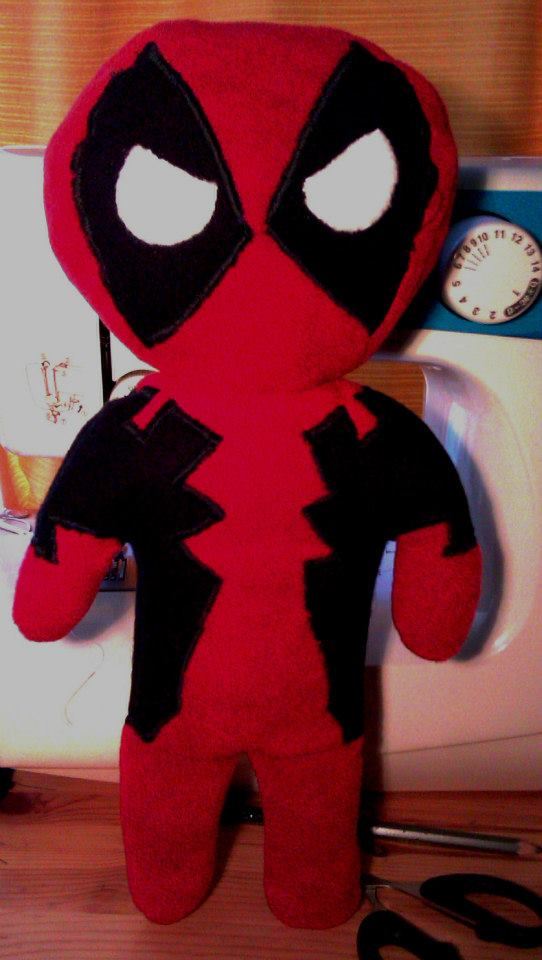 Deadpool Plushie by Arualsti
