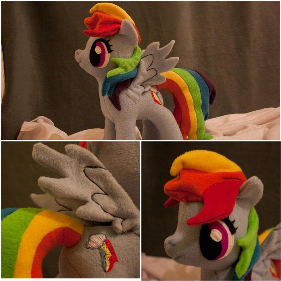 Pony Plushies - Page 2 Rainbow_dash_plushie_by_arualsti-d5iehl7