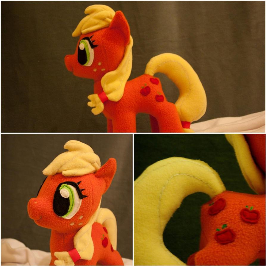 Pony Plushies - Page 2 Applejack_plushie_by_arualsti-d5iej84