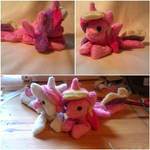 Princess Cadence and Fluer Beanie Babies