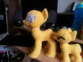 Mare and Filly pattern test comparison by Arualsti
