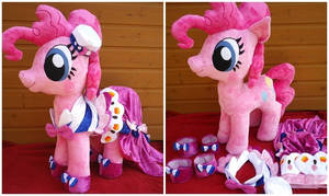 Giant Pinkie Pie and Gala Dress by Arualsti