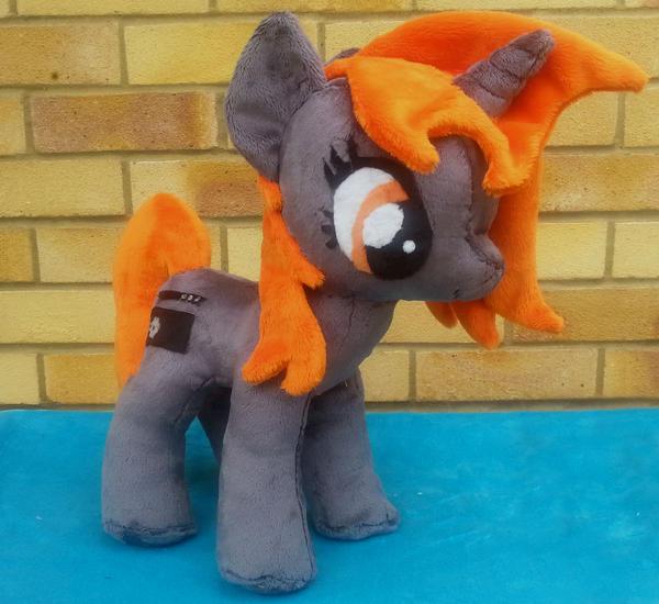 Pony Plushies - Page 4 Firewire_pony_plushie_by_arualsti-d6fj2ld