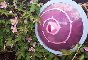 Rose Quartz shield