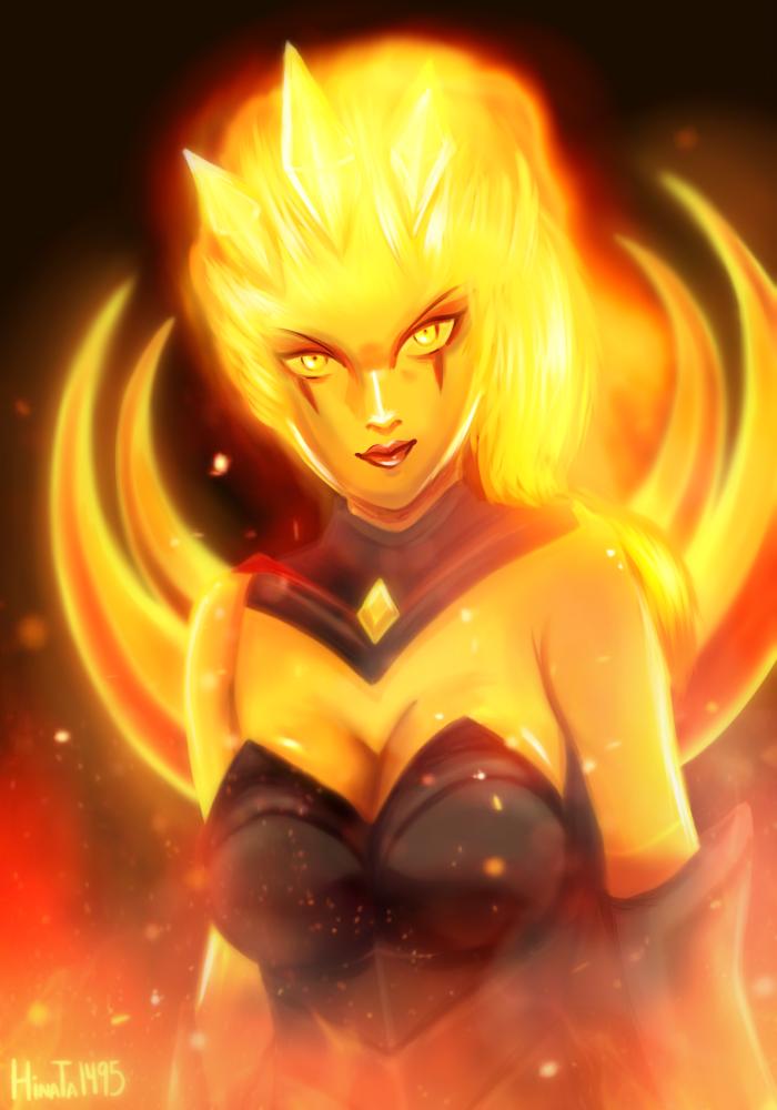 Infernal Diana by Hinata1495