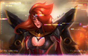 Gun Goddess Miss Fortune by Hinata1495