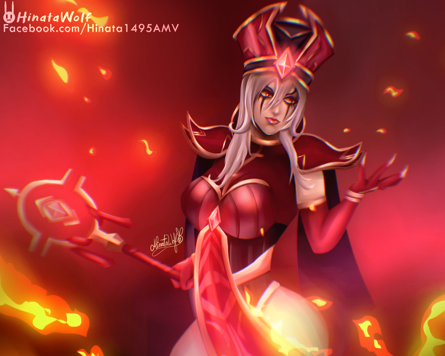 Sally Whitemane by Hinata1495