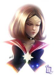 Sailor Marvel by Hinata1495